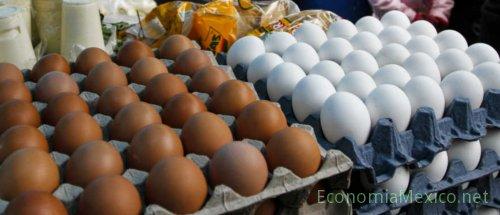 Precio del kilo de huevo sube hasta los 40 pesos