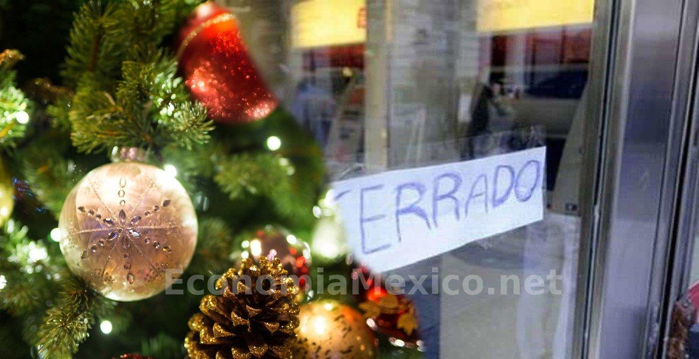 Bancos si abren el 24 de diciembre, cierran en navidad
