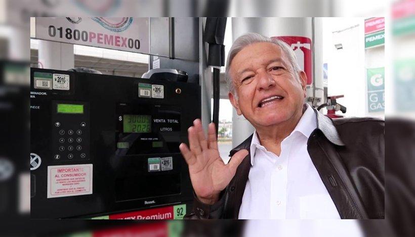 Reconoce AMLO desabasto de gasolina