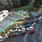 desabasto gasolina filas espera gasolinera