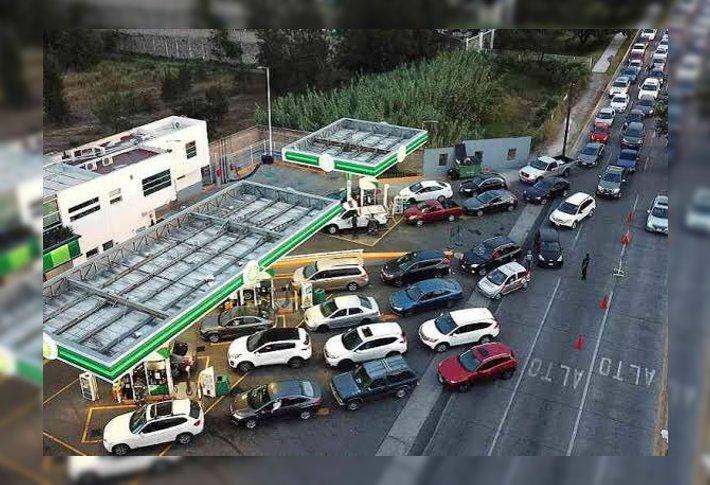 Desabasto de gasolina podría durar un mes